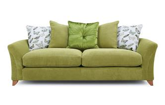 Pillow Back 4 Seater Sofa Leonie
