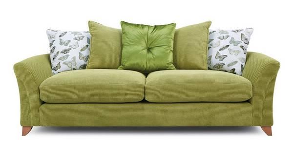 Leonie Pillow Back 4 Seater Sofa