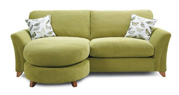 Leonie Formal Back 4 Seater Lounger Sofa