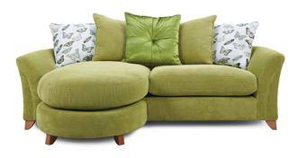 Leonie Pillow Back 4 Seater Lounger Sofa