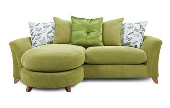 Pillow Back 4 Seater Lounger Sofa Leonie