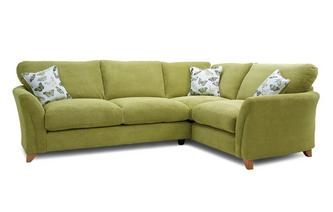 Formal Back Left Hand Facing 3 Seater Corner Sofa Leonie