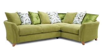 Leonie Pillow Back Left Hand Facing 3 Seater Corner Sofa