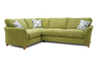 Formal Back Right Hand Facing 3 Seater Corner Sofa Leonie