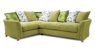 Leonie Pillow Back Right Hand Facing 3 Seater Corner Sofa