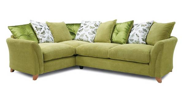 Leonie Pillow Back Right Hand Facing 3 Seater Corner Sofa