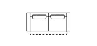 Levin 3-zits elektrische recliner