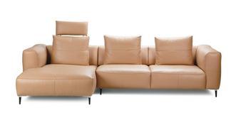 Levin Linkszijdige 2.5-zits chaise bank met elektrische recliner