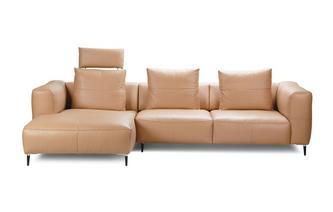 Linkszijdige 2.5-zits chaise bank met elektrische recliner Skagen