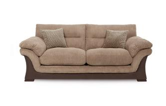 3 Seater Sofa Wyndham Rib