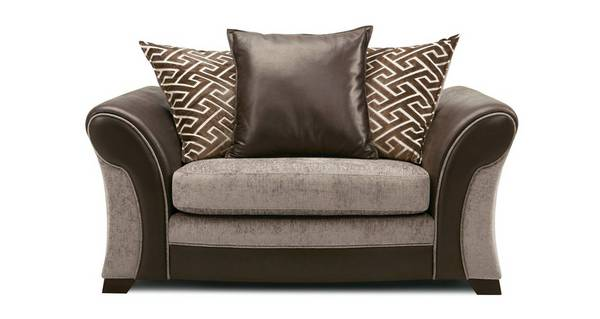 Leyland Pillow Back Cuddler Sofa
