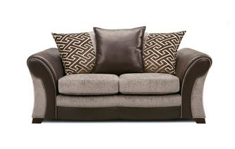 Small 2  Seater Pillow Back Sofa Eternity