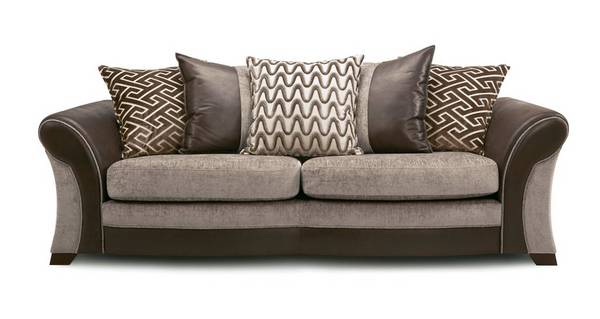 Leyland 4 Seater Pillow Back Sofa