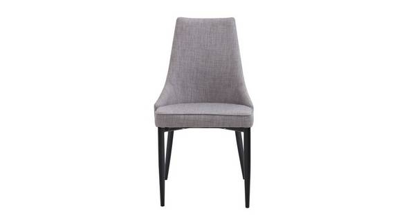 Leyton Quilted Fabric Dining Chair