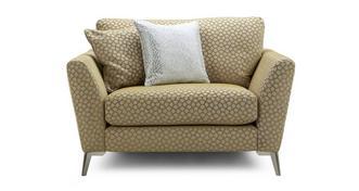 Libby Pattern Cuddler Sofa