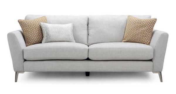 Libby Plain 3 Seater Sofa Dfs, Dfs Sofa Duck Egg Blue