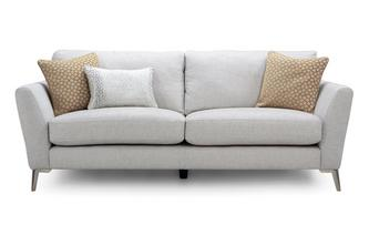 Plain 3 Seater Sofa Libby