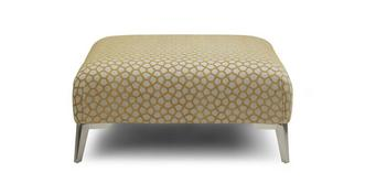 Libby Pattern Banquette Footstool