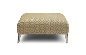 Pattern Banquette Footstool Libby