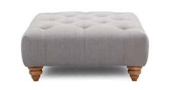 Lilianna Square Button Top Footstool