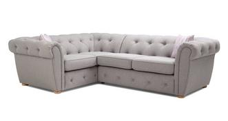 Lilianna Right Hand Facing Arm 2 Seater Corner Sofa