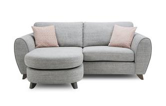 Formal Back 3 Seater Lounger