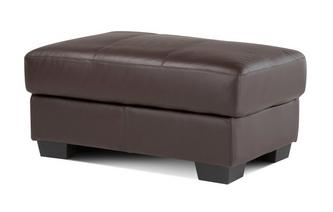 Rectangular Footstool Accent