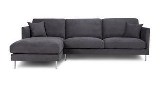 Lissoni Linkszijdige chaise bank