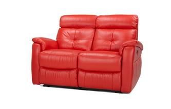 2 Seater Manual Recliner Accent