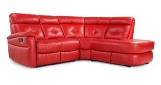 Lloyd Optie A linkszijdige handbediende recliner