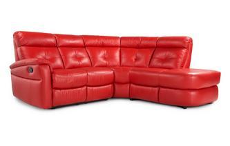 Optie A linkszijdige handbediende recliner Accent