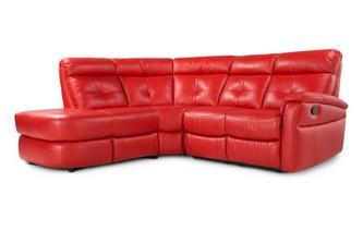 Optie B rechtszijdige handbediende recliner Accent