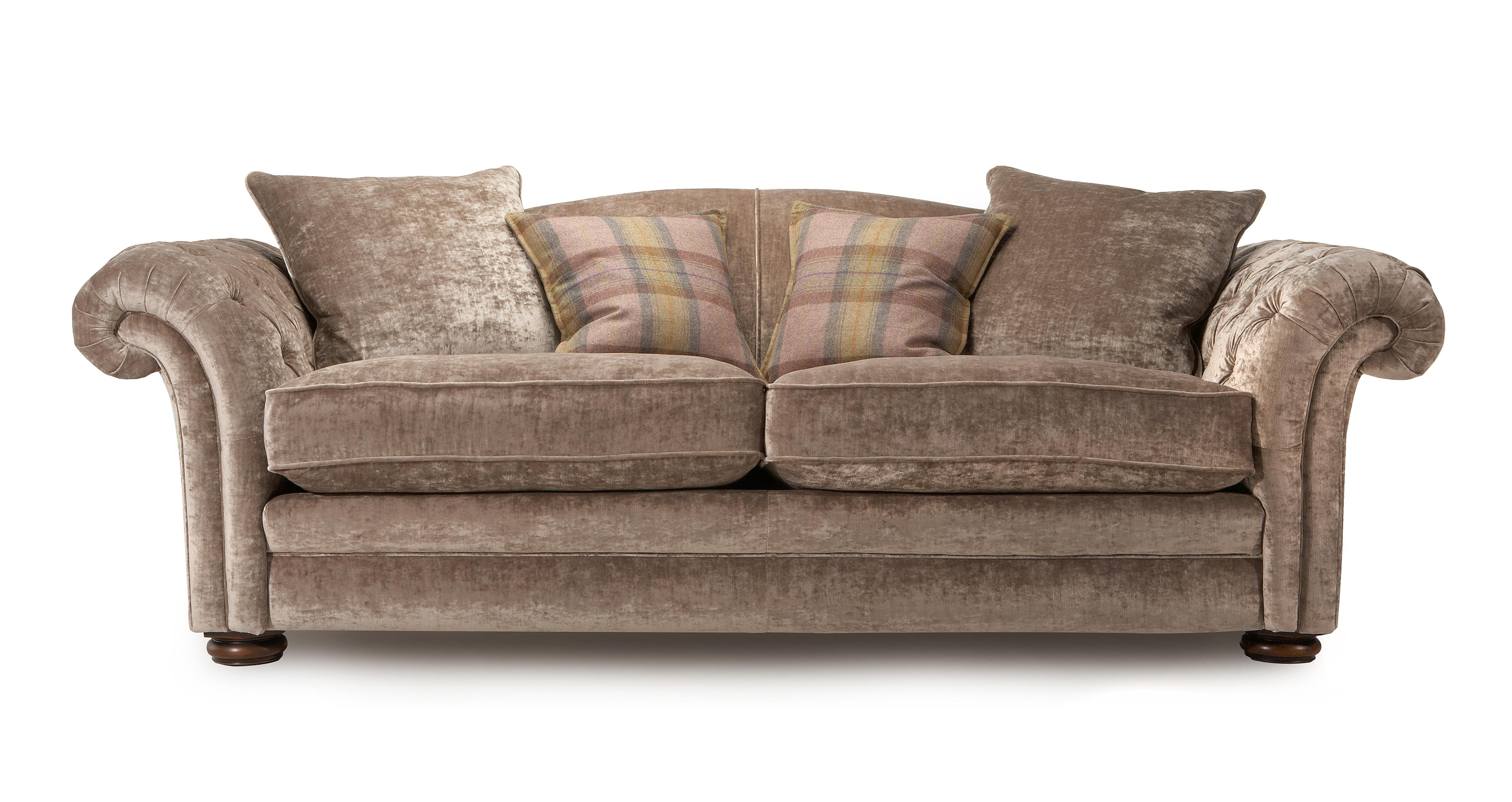 Loch Leven Grand Pillow Back Sofa Dfs