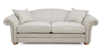 Loch Leven Plain Pillow Back 4 Seater Sofa