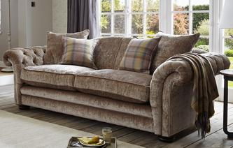 Loch Leven Grand Pillow Back Sofa Loch Leven