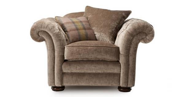Loch Leven Pillow Back Armchair