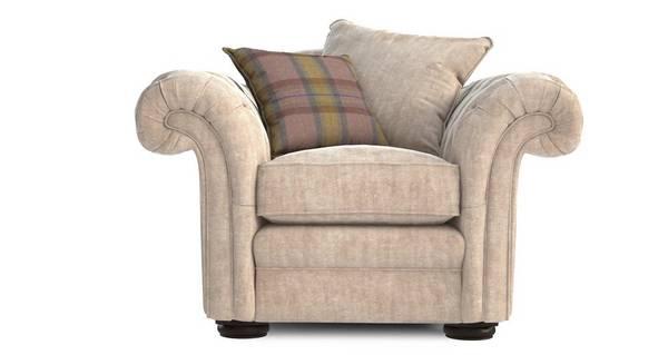 Loch Leven Formal Back Armchair