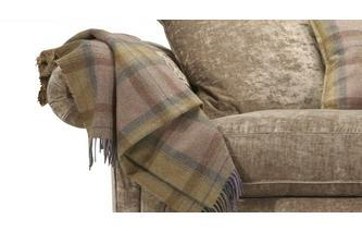 Plaid Throw Gower Plaid