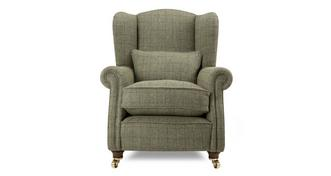 Loch Leven Tweed Wing Chair