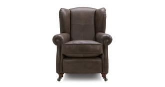 Loch Leven Leather Oorfauteuil