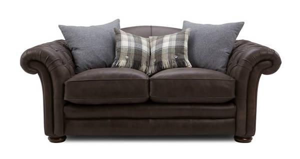 Loch Leven Leather Medium Sofa