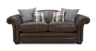 Loch Leven Leather 3 Seater Sofa