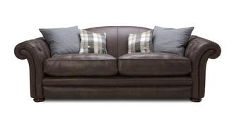 Loch Leven Leather Grand Sofa