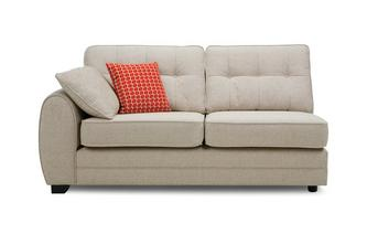 Left Hand Facing 1 Arm 3 Seat Deluxe Sofa Bed Unit
