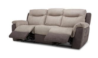 Logan 3-zitter handbediende recliner