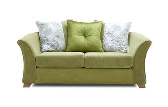 2 Seater Pillow Back Sofa Bed Lois