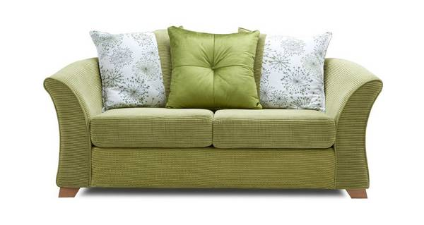 Lois 2 Seater Pillow Back Sofa Bed