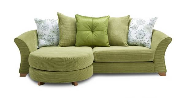 Lois 4 Seater Pillow Back Lounger