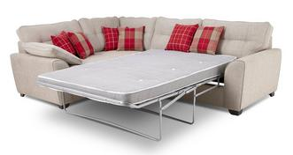 Lomax Right Hand Facing 3 Seater Deluxe Corner Sofa Bed