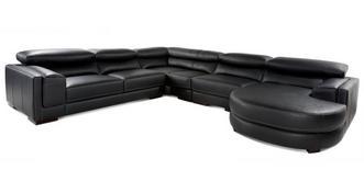 London 4 Piece Corner Sofa